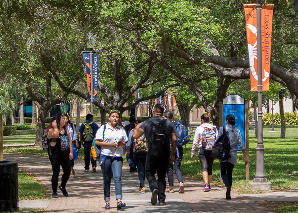 Texas Southmost College set a new record enrollment of 5,394 students for the spring 2017 semester.